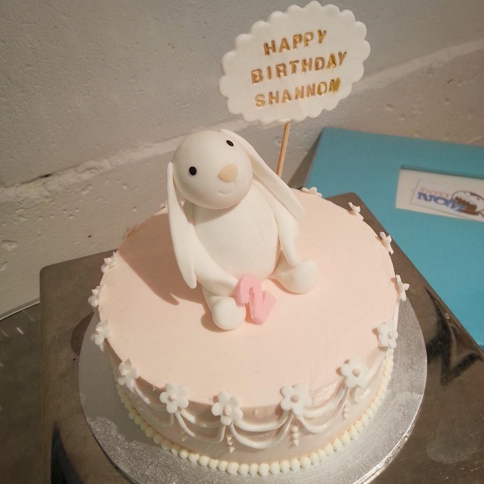 Bunny Birthday Cake Sweetnom Bakery